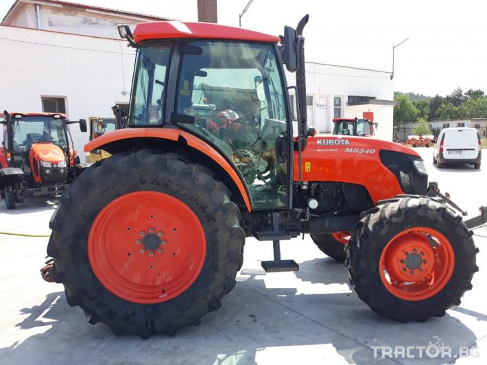 Трактори Kubota M8540 0 - Трактор БГ