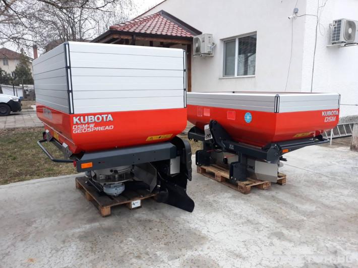Торачки Kubota DSC/DSM/DSM-W/DSX/DSX-W/DSX-W GEO 4 - Трактор БГ